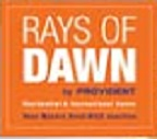 Provident Rays of Dawn