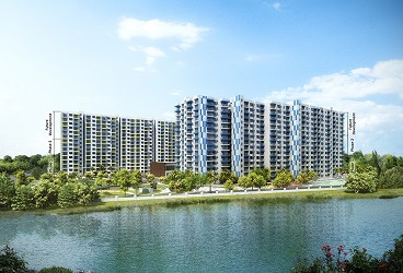 Adarsh Palm Retreat Lake Front