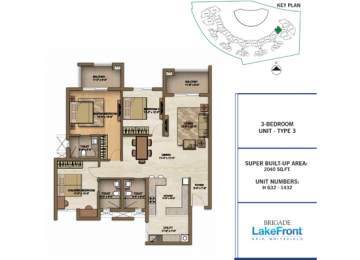 3 BEDROOM UNIT TYPE 3