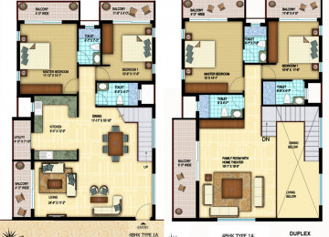 4bhk type 1A