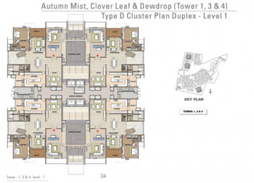 D Cluster Plan Duplex Level 1