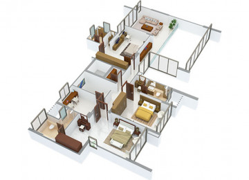 5 BHK type1 upper level