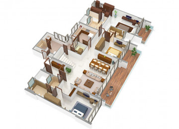 5 BHK type2 lower level