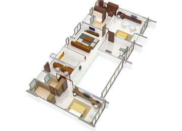 5 BHK type2 upper level
