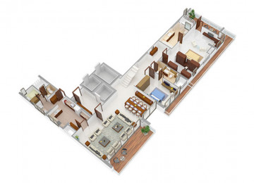 5 BHK type3 lower level