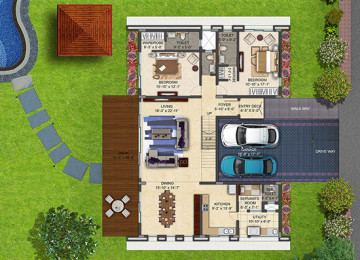 Clover greens beryl first floor plan