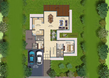 Clover greens spehene ground floor plan