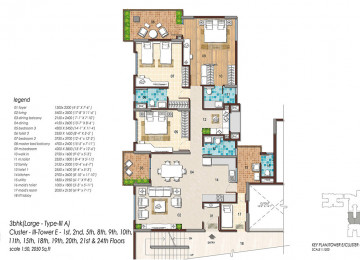 3 BHK Largetype 3a