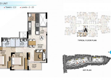 Type A 2 BHK 1134 Sq.Ft.