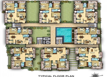 Typical floorplan