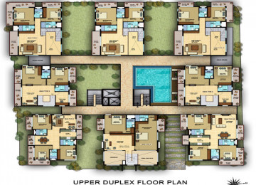 Upperd uplex floorplan