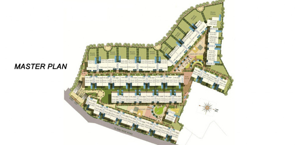 embassy grove  master plan