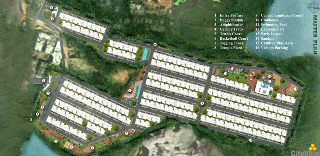 valmark city ville  master plan