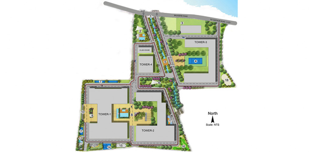 Ecolife Elements Of Nature  master plan
